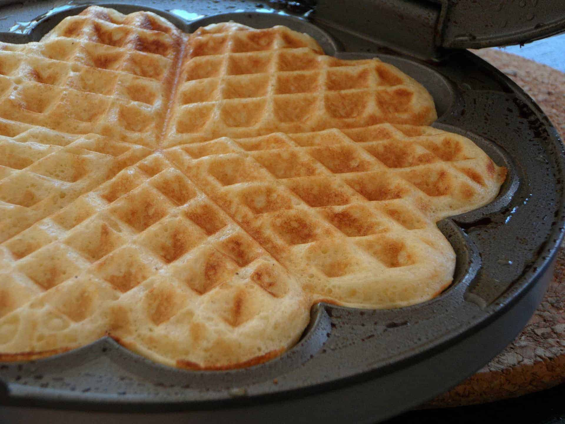 How to Make Waffles with Pancake Mix