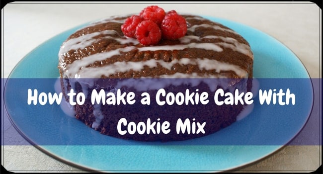 How to Make a Cookie Cake With Cookie Mix